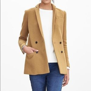 BR Camel blazer - wool blend
